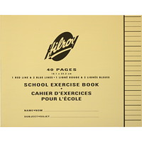 Hilroy School Exercise Book