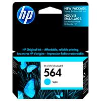 Cartouche d'encre à rendement standard HP 564 (CB318WN), cyan