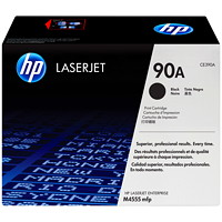 HP 90A Black Standard Yield Toner Cartridge (CE390A)
