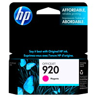 HP 920 Magenta Standard Yield Ink Cartridge (CH635AN)