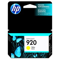 HP 920 Yellow Standard Yield Ink Cartridge (CH636AN)