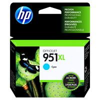 HP 951XL Cartouche d'encre cyan à rendement élevé d'origine (CN046AN)