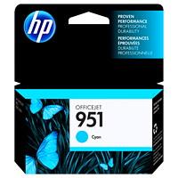 HP951 Cartouche d'encre cyan d'origine (CN050AN)