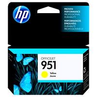 HP 951 Cartouche d'encre jaune d'origine (CN052AN)