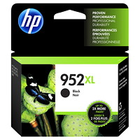 HP 952XL Black High Yield Ink Cartridge (F6U19AN)
