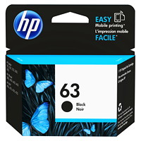 HP 63 Black Standard Yield Ink Cartridge (F6U62AN)