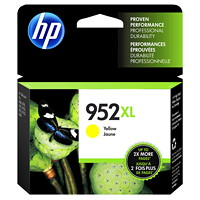 HP 952XL Yellow High Yield Ink Cartridge (L0S67AN)