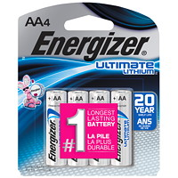 Energizer AA Ultimate Lithium Batteries