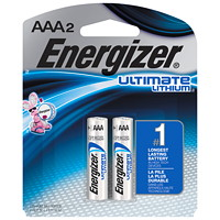 Piles Ultimate Lithium Energizer AAA