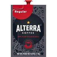 Flavia Alterra Single-Serve Coffee Freshpacks, Espresso, Regular Roast, 80/CT