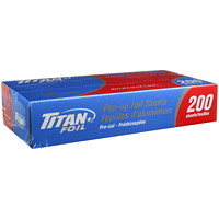 Titan Pop-Up Foil Sheets, 200/PK