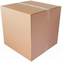Boîtes en carton ondulé kraft brun