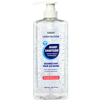 zytec Germ Buster Gel Hand Sanitizer with Aloe, Vitamin E and Moisturizers