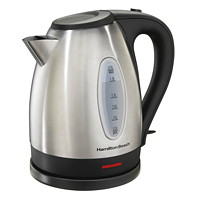 Hamilton Beach Stainless-Steel Kettle, 1.7 L