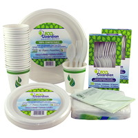 Eco Guardian Compostable Tableware Party Kit