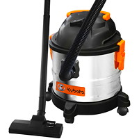 Kubota 4-Gallon Stainless-Steel Wet/Dry Vacuum