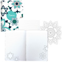 Blueline DoodlePlan Colouring Journal, 7 3/4