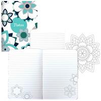 DoodlePlan journal de coloriage Blueline