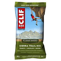 CLIF Bar Energy Bars, Sierra Trail Mix, 68 g, 12/BX