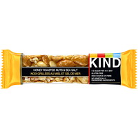 KIND Bars, Honey Roasted Nuts and Sea Salt, 40 g, 12 Bars/BX