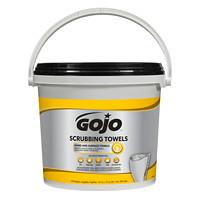 Serviettes nettoyantes pré-humectées pour le nettoyage intensif Gojo