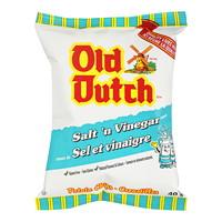 Croustilles Old Dutch, sel et vinaigre, 40 g, caisse de 40