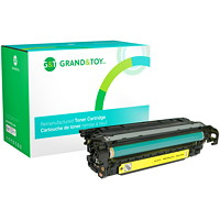 Grand & Toy Remanufactured HP 507A Yellow Standard Yield Toner Cartridge (CE402A)