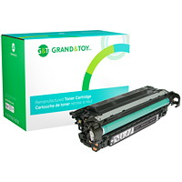Grand & Toy Remanufactured HP 507A Black Standard Yield Toner Cartridge (CE400A)