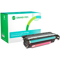 Grand & Toy Remanufactured HP 507A Magenta Standard Yield Toner Cartridge (CE403A)