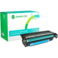 Grand & Toy Remanufactured HP 507A Cyan Standard Yield Toner Cartridge (CE401A)