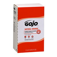 Gojo PRO TDX Natural Orange Pumice Hand and Surface Cleaner, 2,000 mL, 4/CS