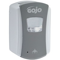 Gojo LTX Touch-Free Foam Hand Soap Dispenser, Grey/White, 700 mL Capacity