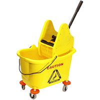 Conglom 36 L Mop Bucket And Down Press Wringer Combo