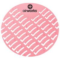 Tamis pour urinoir en CAV/E Airworks, parfum de fraise, boîte de 10