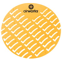 AirWorks EVA Urinal Screens, Citrus Grove Scented, 10/BX