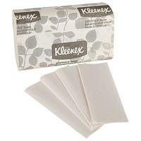 Essuie-tout blanc à 1 épaisseur Scottfold Kleenex