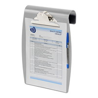 Wilson Jones Letter-Size Hang It Antimicrobial Clipboard