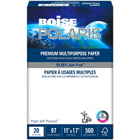 Boise Polaris Premium Multi-Purpose Paper, FSC Certified, 20 lb., 11