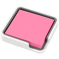 POSTIT NOTE 3X3 EDGE HOLDER WT