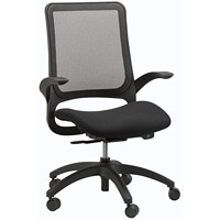 Eurotech Hawk Synchro-Tilt Black Task Chair