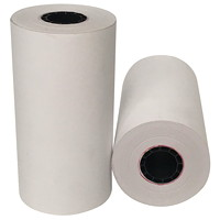 McDermid BPA-Free Thermal Paper Rolls, Thermal Truck Delivery, White, 4 3/8