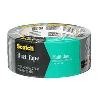Scotch Multi-Use Duct Tape, Grey, 48 mm x 27.4 m