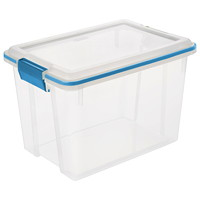 Sterilite Clear Latching 19 L Gasket Box