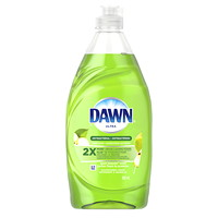 Dawn Ultra Antibacterial Hand Soap and Dishwashing Liquid, Apple Blossom Scent, 532 mL