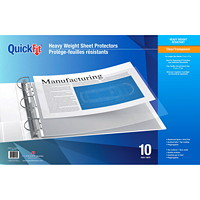 Davis Group QuickFit Heavyweight Tabloid-size (11