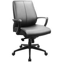 Tempur-Pedic Leather Knee-Tilt Chair