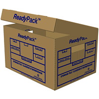 Boîte de rangement robuste ReadyPack, 12/Caisse