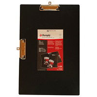 VLB StayClean Duraply Black Clipboard