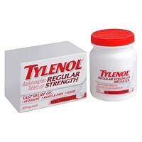 Comprimés d'acétaminophène Tylenol, régulier