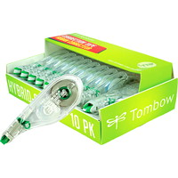 Tombow Mono Hybrid-Style Correction Tape, 10/Pk